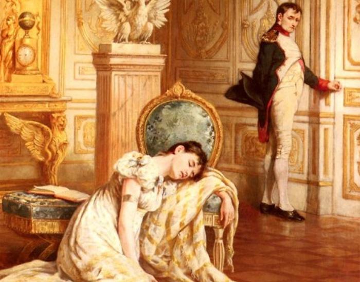Прощание Наполеона с Жозефиной. Ласлетт Джон Пот.